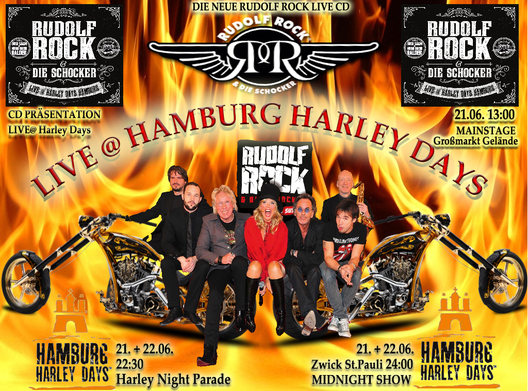 Rudolf Rock goes Harley Days !!!